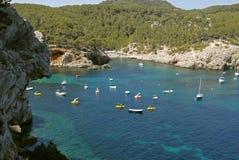 Port San Miguel, Ibiza Hiszpania Obrazy Stock