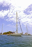 Port San Miguel, Ibiza Hiszpania Zdjęcie Stock