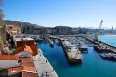 Port of San Sebastian Stock Image