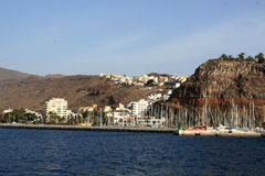 Port San Sebastian de la Gomera Royalty Free Stock Photo