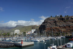 Port in San Sebastian Royalty Free Stock Photography