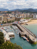 Port of San Sebastian Stock Photography