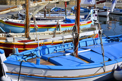Port of Sanary-sur-Mer in France royalty free stock photos