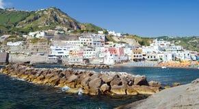 Port of Sant Angelo, Ischia, Italy Royalty Free Stock Image