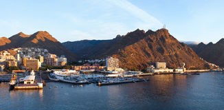 Port of Santa Cruz, Tenerife Stock Image