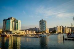 Port in Santa Marta, caribbean city, northern Stock Image