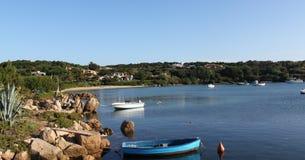 Port on Sardegna. Porto cervo on Sardegna in Europa stock photos