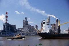 Port of Savannah. In  Georgia Royalty Free Stock Photos