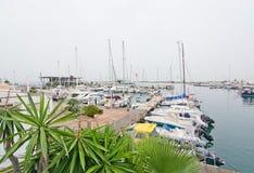 Port Savina Formentera Stock Photo