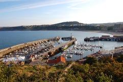port scarborough arkivfoton