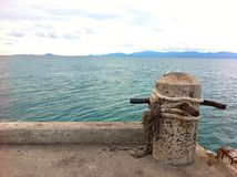 port sea view thailand Stock Photography