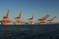 Port Of Seattle. Washington (USA Stock Image