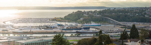 Port of Seattle Stock Photography