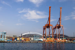Port of Seattle Royalty Free Stock Photos