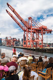 Port of Seattle cranes Stock Image