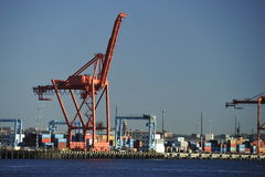 Port of Seattle, USA Stock Photography