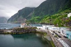 Port in Seixal, Madeira, Portugal Stock Photos