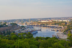 The port of Sevastopol. Crimea Stock Photos
