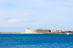 Port Of Sevastopol. Sevastopol, Russia - Fort in Sevastopol. A city in the southwestern part of the Crimean Peninsula on the Black sea. Ice-free sea trade port Royalty Free Stock Images