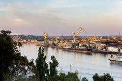 Port of Sevastopol. In summer Royalty Free Stock Images