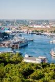 In the port of Sevastopol. Ukraine, Crimea Stock Image