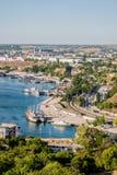 In the port of Sevastopol. Ukraine, Crimea Royalty Free Stock Image