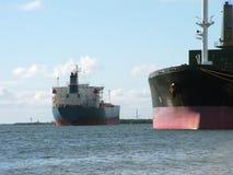 port ships Arkivbild