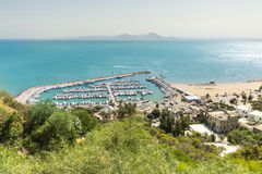 Port of Sidi Bou Said Stock Photos