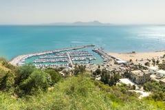 Port of Sidi Bou Said Stock Photos