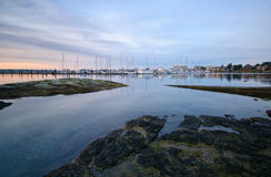 Port Sidney Marina, Sidney, British Columbia Royalty Free Stock Image