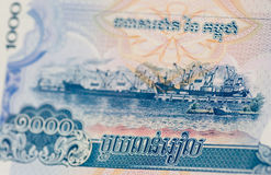 Port of Sihanoukville, Kampong Saom, Banknote Stock Photography