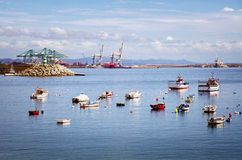 Port of Sines Royalty Free Stock Images