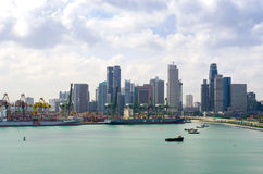 Port of Singapore Royalty Free Stock Images