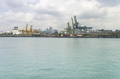 Port of Singapore Royalty Free Stock Photo