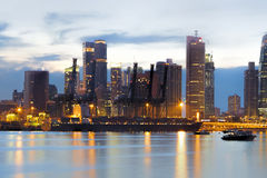 Port of Singapore Royalty Free Stock Photography