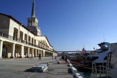 port sochi Arkivfoto