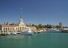 Port of Sochi Stock Photos