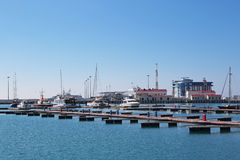 Port of Sochi Stock Photography