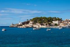 Port Soller Royaltyfri Fotografi