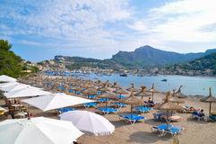 Port of Soller Royalty Free Stock Photos