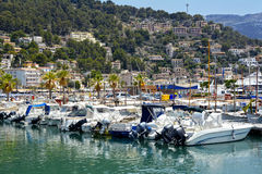 Port of Soller, Mallorca island Royalty Free Stock Photo