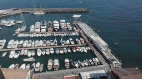 Port of Sorrento. South italy port royalty free stock photo