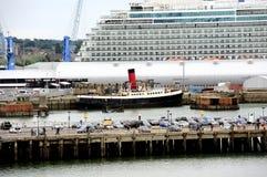 Port of Southampton Stock Photography