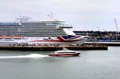 Port of Southampton Royalty Free Stock Images