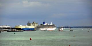 Port of Southampton Stock Photos