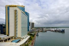 Port of Spain - i Trinità e Tobago fotografia stock libera da diritti