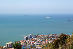Port of spain at Trinidad Royalty Free Stock Photos