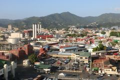 Port of Spain, Trinidad and Tobago Royalty Free Stock Photography