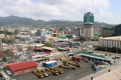 Port of Spain, Trinidad and Tobago Stock Photography