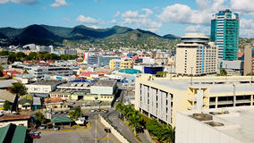 Port of spain at Trinidad - Trinidad and  Tobago Stock Images
